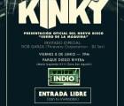 Kinky presenta su nuevo disco con un concierto gratuito en Monterrey