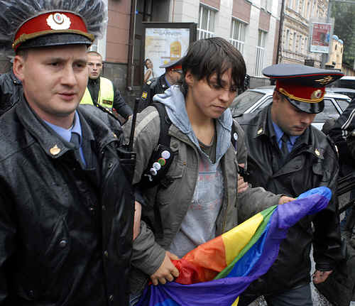 Rusia prohibe marchas gay