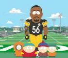 Jugador de los Acereros de Pittsburgh saldrá en South Park