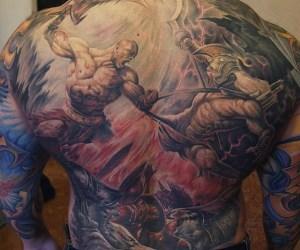 God of War tatoo