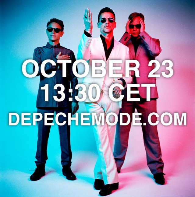 Live stream at depechemode.com