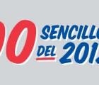 Los 100 sencillos del 2012. Día 3