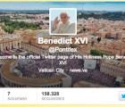 Benedicto XVI en Twitter