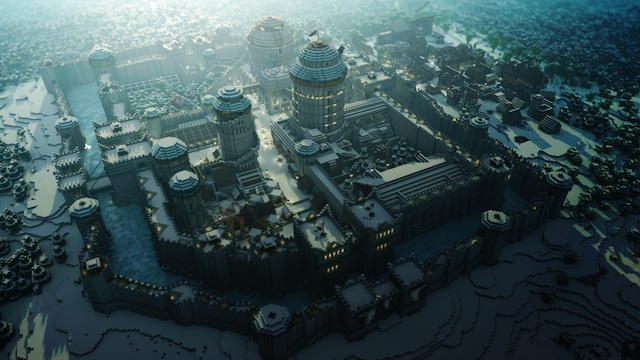 Game of Thrones en Minecraft