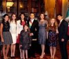 Y en la imagen del día... La nueva familia presidencial