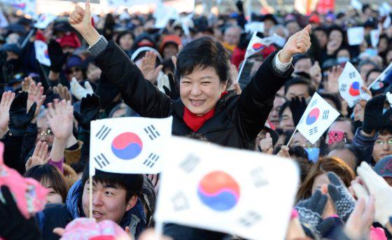 presidenta corea