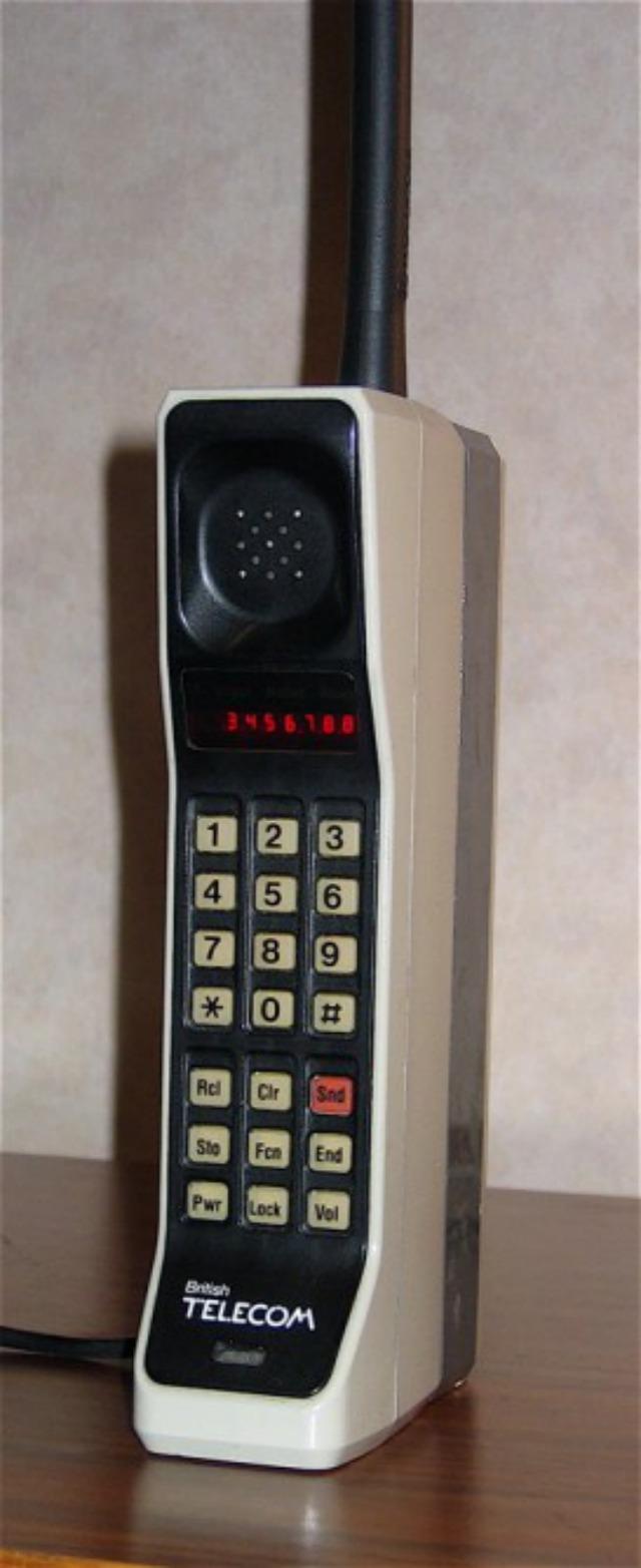 Motorola DynaTAC de 1984.