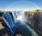 Y en la imagen del día: asombroso arcoiris en Zambia