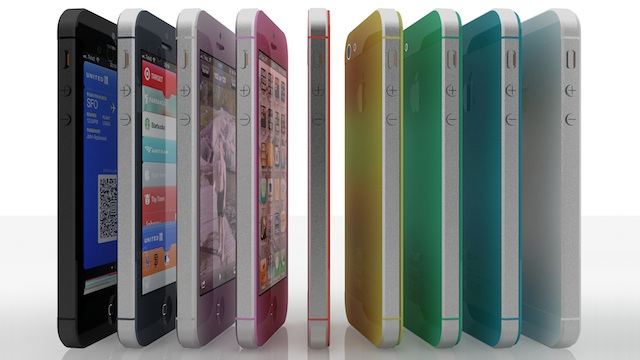 iPhone 5S en colores