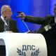 Intentan asesinar a líder de partido político búlgaro en pleno discurso