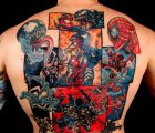 spiderman venom tattoo