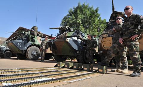 tropas francesas