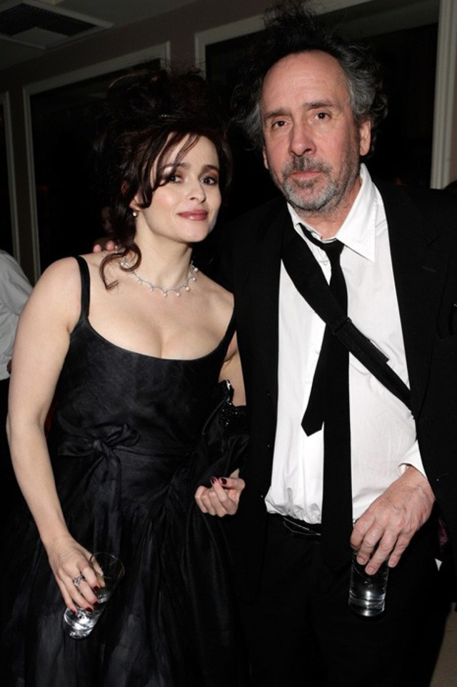 AfterPartyVanityFair Tim Burton y Helena Bonham Carter copy