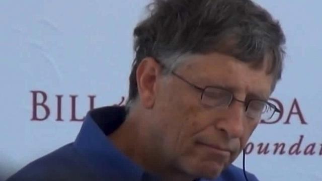 Bill Gates se duerme