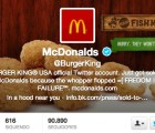 Anonymous hackea el Twitter de Burger King