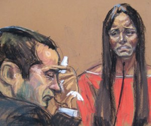 Courtroom sketch of Gilberto Valle