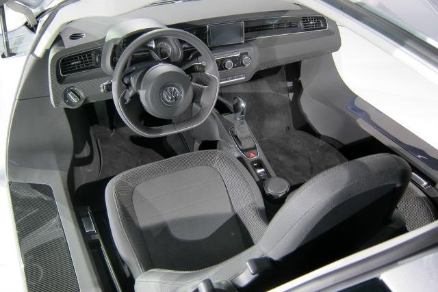 El XL1 contará con espacio para dos asientos.