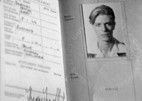 pasaporte David Bowie