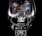 Confirman concierto y precios de Motörhead en el Palacio de los Deportes