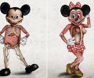 Popular-Disney-Character-Anatomy-by-Alessandro-Conti-0