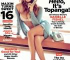 "Danielle Fishel alias ""Topanga"", en Maxim"