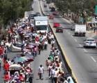 Maestros de la CETEG nuevamente bloquearon la Autopista del Sol