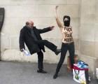 Femen realiza movilizaciones por toda Europa a favor de tunecina que protestó en topless