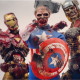 Los superhéroes de Marvel, convertidos en zombies