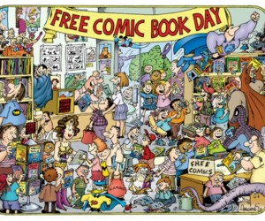 Aragones Free Comic Book Day