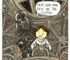 ¿Cómo sería un Darth Vader muy paternal?