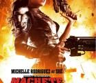 Michelle Rodriguez regresa como Shé en el nuevo póster de Machete Kills