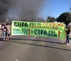 Protestas en Brasilia, manifestantes bloquean estadio para la Copa Confederaciones