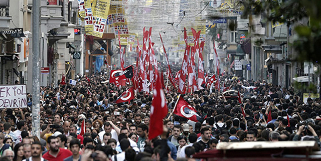 Turkey protests in pictures