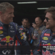 Video: Félix Baumgartner probó la velocidad de un triplaza de Fórmula Uno
