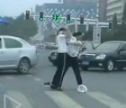 Catfight policiaco en China