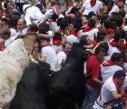 Drama y muchos accidentes se vivieron en el 7mo. encierro de San Fermín