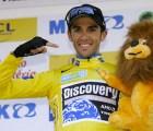 La rodilla de Alberto Contador tras su caída en el Tour de Francia