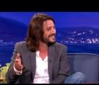 Diego Luna le enseña español a Conan O'Brien