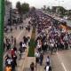 Granaderos impiden avance de la CNTE en el Aeropuerto