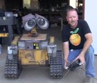 Construyen un robot Wall-E en la vida real