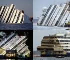 Galería: Así fue el proceso para enderezar el crucero Costa Concordia