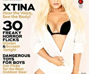 Así se ve Christina Aguilera para la Maxim USA