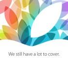 Apple presentará sus nuevos iPads el 22 de octubre