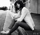 Selena Gomez para la revista Flaunt (quién la viera)