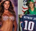Si Gisele Bündchen fuera una empresa, valdría siete veces más que Neymar: Forbes