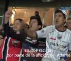 Aficionados del Atlante, vetados por insultos racistas