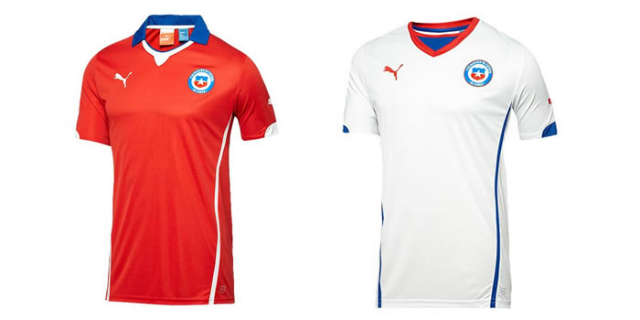 jerseys chile
