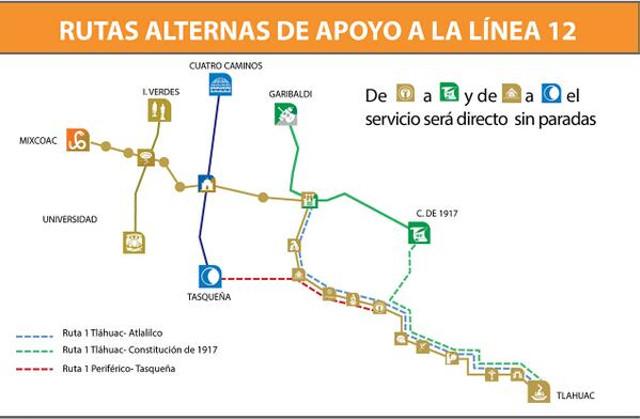 Cuánto costará la suspensión de la Línea 12 del metro?