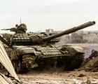Así se ve el ataque de un tanque en Siria