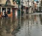 Galería: ¡Xochimil...! Ah, no, es la Vallejo inundada por fuga